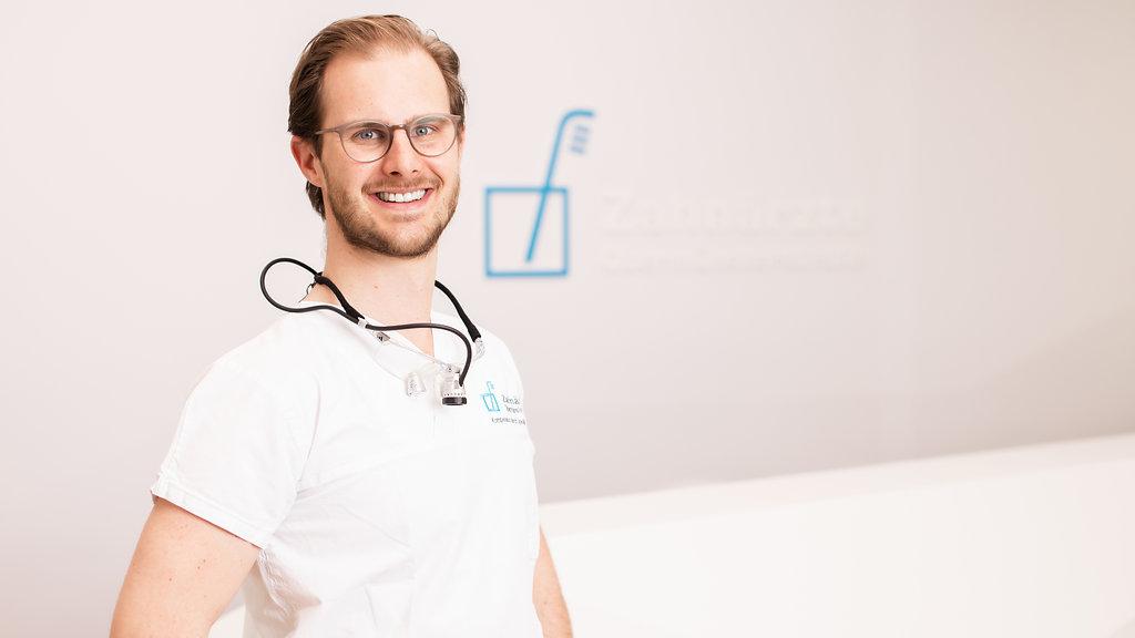 Dr. Julian Hieronymus M.Sc. von den Zahnärzten Obermünsterstraße in Regensburg